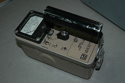 Ludlum Model 12 Ratemeter Survey Meter