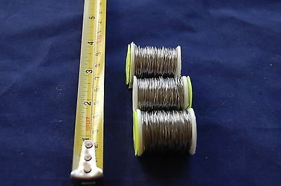 STAINLESS STEEL BEAD CHAIN EYES HARELINE DUBBIN FLY TYING U PICK SIZE