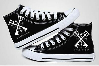 Hot Sale Kingdom Hearts Anime cosplay personality canvas shoes