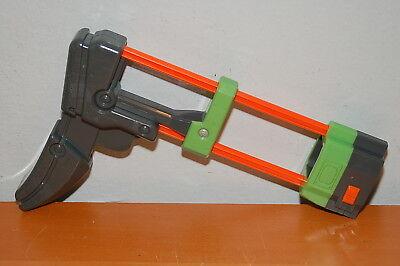 Nerf Vortex Praxis Shoulder Stock Attachment Part Disc Green Gray Orange