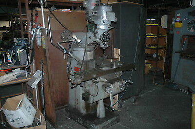 Bridgeport Milling Machine Series 1 2 Hp