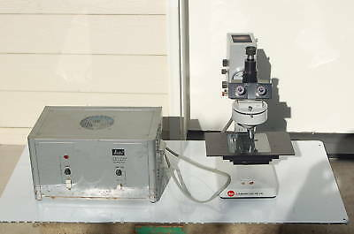 Leitz Leica Laborlux 12hl Microscope Xenon Light Guar