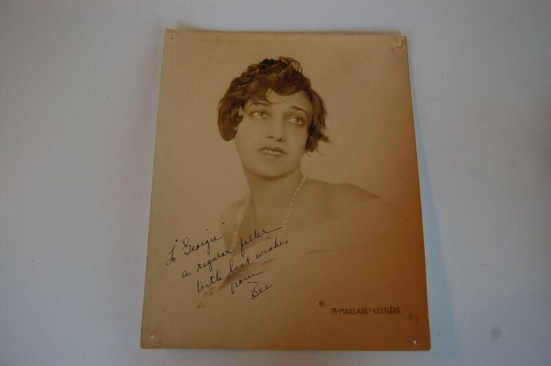 Circa 1930 Beatrice Belkin Soprano Autographed Photo
