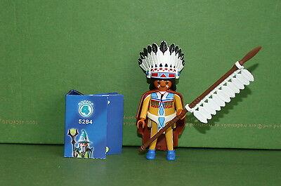 Playmobil 5284 Figures Boys Serie 4 Indianer Indianerhäuptling Western