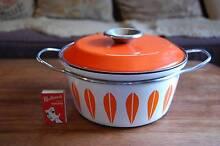 60's Mid Century Vintage Catherineholm Enamel Dutch Oven Pot Pan Hilton Fremantle Area Preview