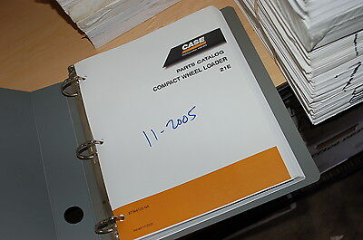 Case 21e Compact Mini Front End Wheel Loader Parts Manual Book Catalog Spare