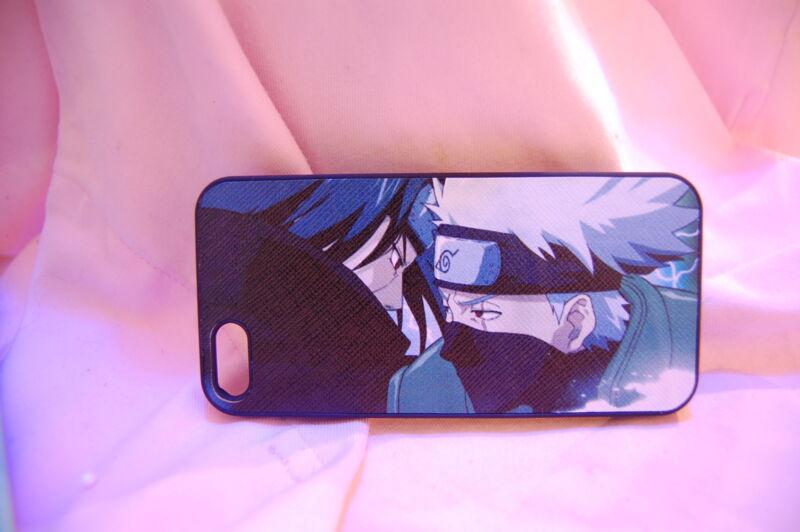 USA Seller Apple iPhone 5 / 5s / SE  Anime Phone case Naruto Kakashi vs Itachi