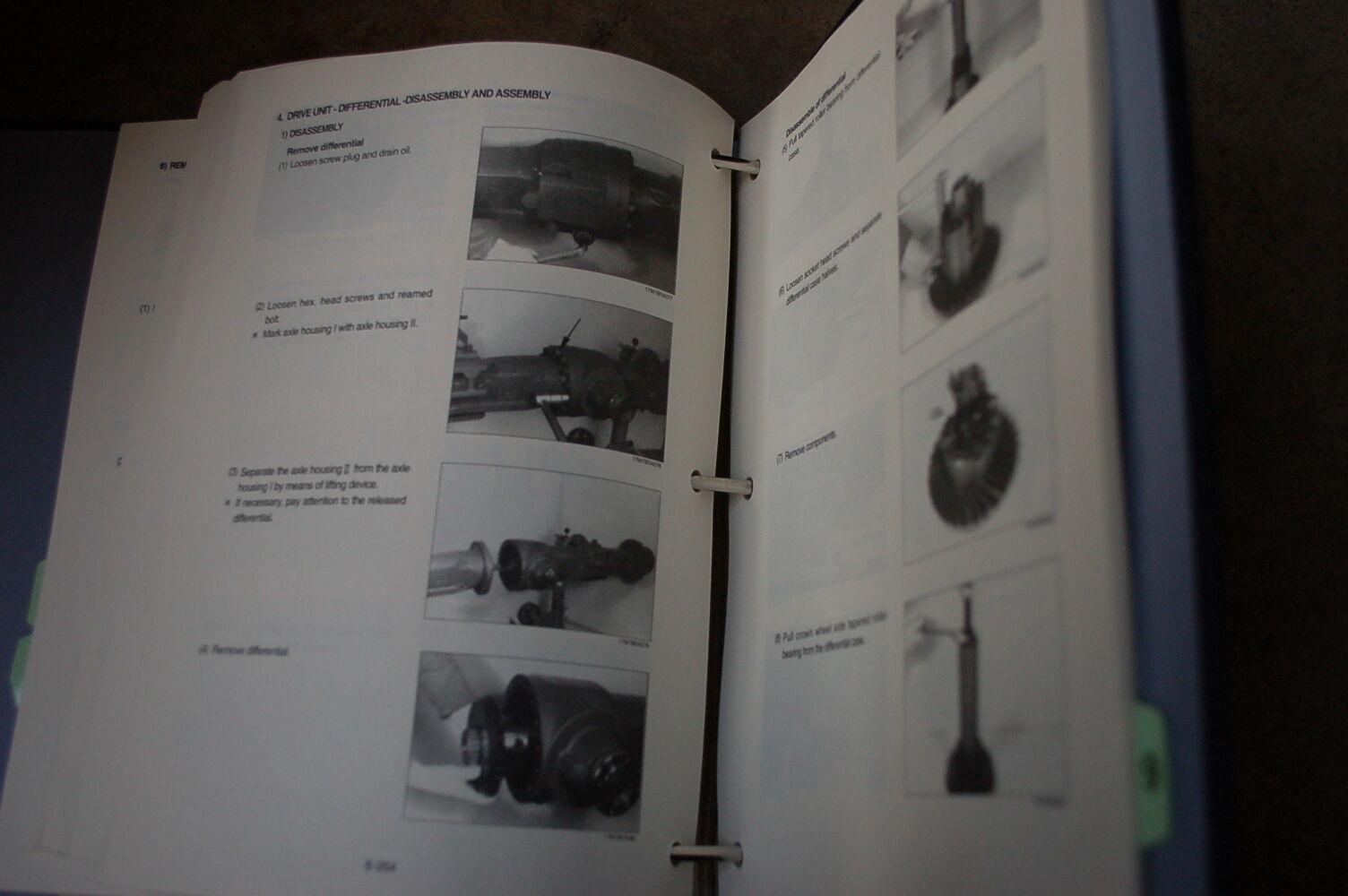 9 of 11 HYUNDAI HSL 800-7 Skid Steer Loader Service Manual book repair  overhaul shop 10 of 11 HYUNDAI ...