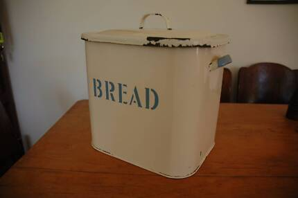 Enamel bread tin Hawthorndene Mitcham Area Preview