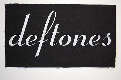 Deftones Cloth Patch (CP219) Rock Metal Incubus Pantera Thrice White Stripes