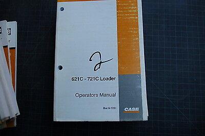 Case 621c 721c Front End Wheel Loader Owner Operator Maintenance Manual 2000 Use