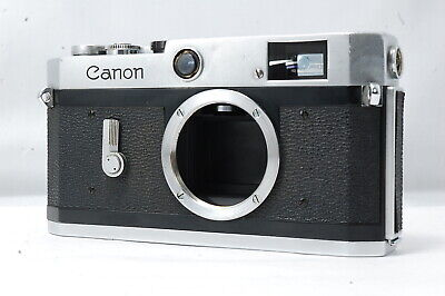 **Problem** Canon P 35mm Rangefinder Film Camera Body Only  SN728365