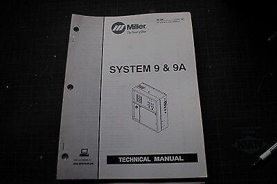 Miller Welder System 9 9a Generator Owner Service Repair Parts Manual Book Owner