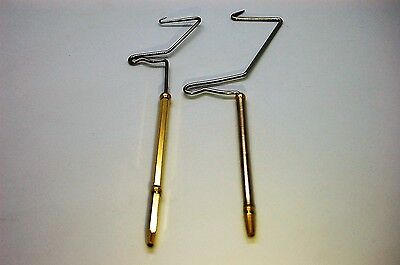 Standard and Large and Ceramic Bobbin Holder with Wooden Grip 2x Whip Finisher