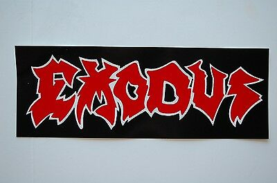 Exodus Sticker Decal (472) Punk Metal Excel Anthrax Car Window Bumper