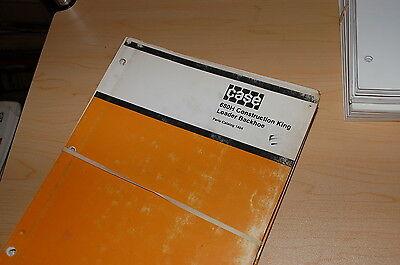 Case 680h Construction King Backhoe Loader Spare Parts Manual Book Catalog 1982