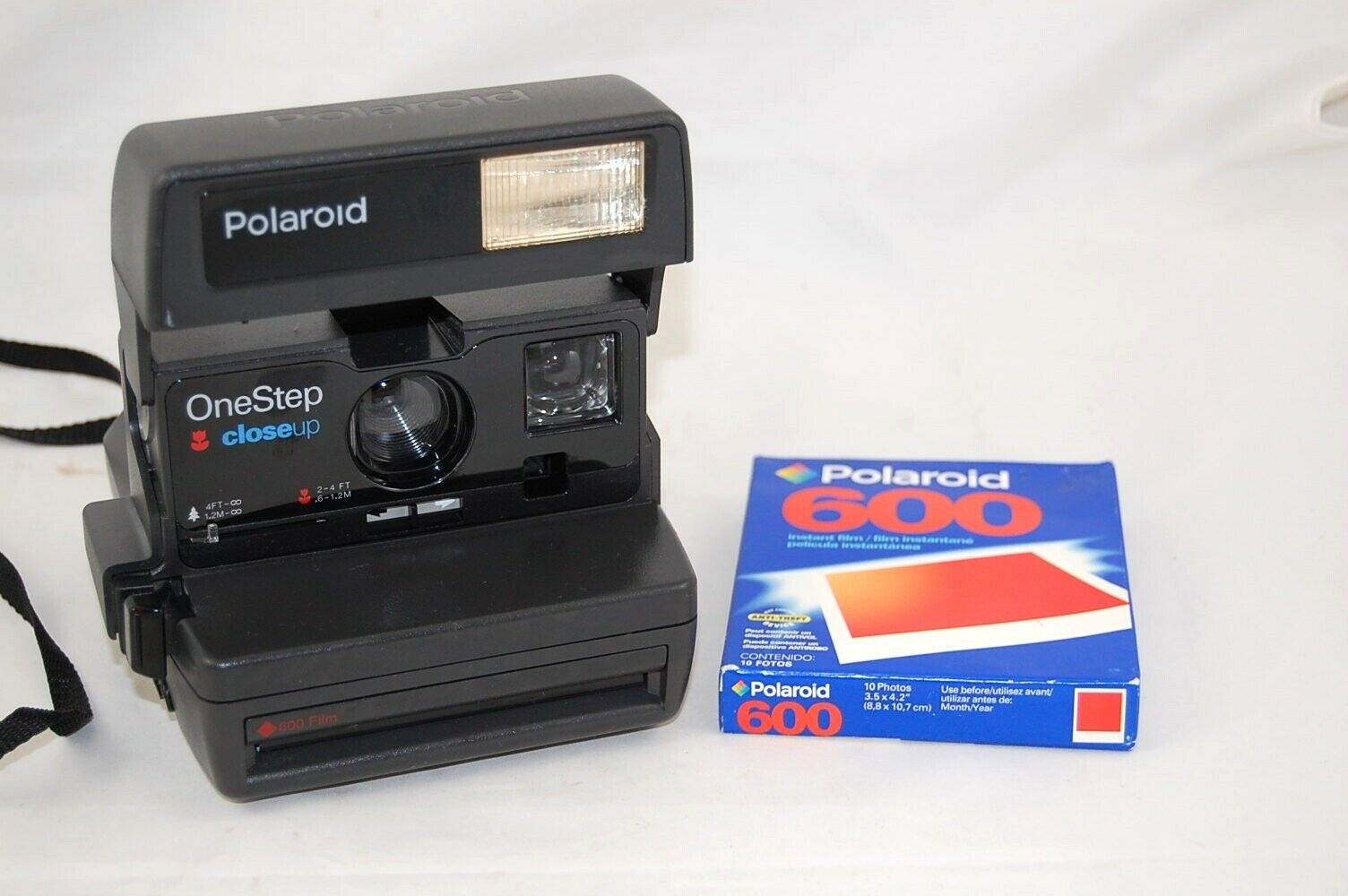 Polaroid OneStep Closeup Instant Camera And Exp. Film Pack - $15.50