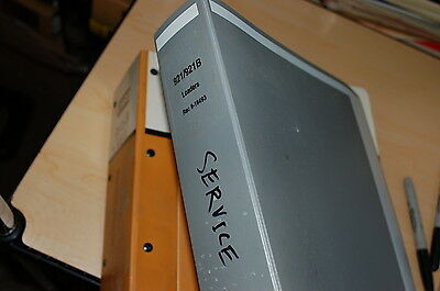 Case 921 B Front End Wheel Loader Repair Shop Service Manual Book Overhaul 1995