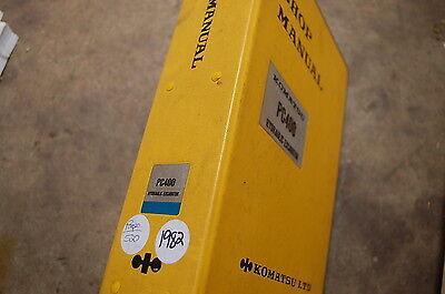 Komatsu Pc400 Excavator Trackhoe Crawler Service Repair Manual Book Overhaul Oem