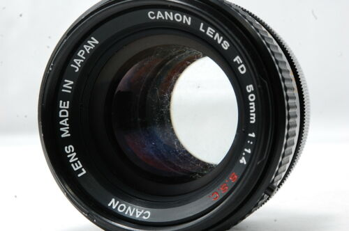**Not ship to USA** Canon FD 50mm F1.4 S.S.C. Lens  SN410456