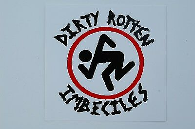 DRI Dirty Rotten Imbeciles Sticker Decal (S189) Punk Thrash Rock Car Window