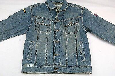 I.P. Zone Outfitter's Men's Large Denim Jean Trucker Jacket #H506