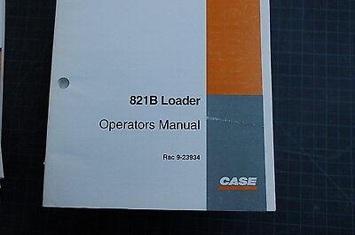 Case 821b Front End Wheel Loader Owner Operator Maintenance Manual Book 1996 Use
