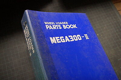 Daewoo Mega 300 Front End Wheel Loader Parts Manual Book Catalog List Spare 1998
