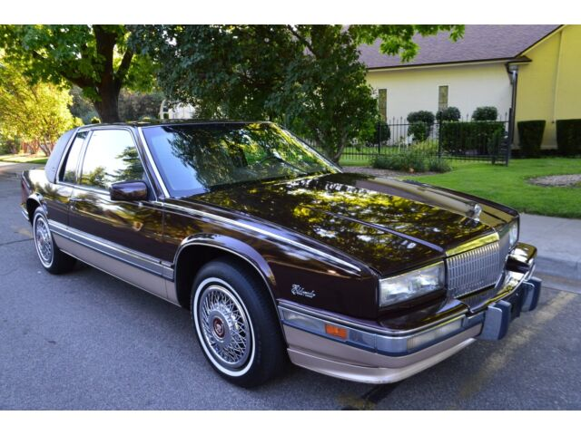 BEAUTIFUL 87K ACTUAL MILE 2 OWNER SURVIVOR 1991 CADILLAC ELDORADO BIARRITZ NICE!