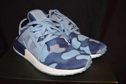 US 7 Womens Adidas NMD XR1 Duck Camo Blue
