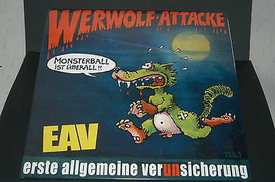 Erste Allgemeine Verunsicherung EAV Werwolf-Attacke LIMITIERTE Vinyl LP signiert