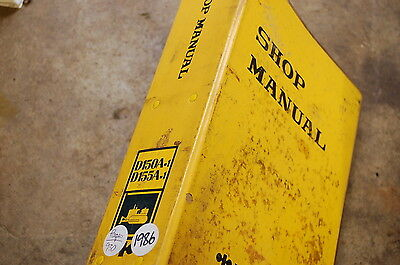 Komatsu D150 D155 Tractor Dozer Crawler Service Repair Manual Book Shop Overhaul