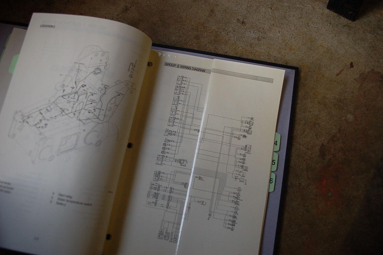 9 of 11 HYUNDAI HSL 800-7 Skid Steer Loader Service Manual book repair  overhaul shop 10 of 11 HYUNDAI HSL ...