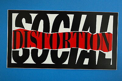 Social Distortion Sticker Decal (67) Mike Ness Punk Rock Car Window Sticker