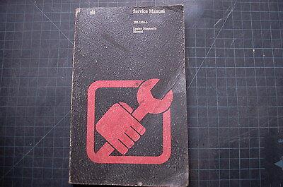 Ih International Engine Diagnostic Data Service Manual Book Repair Dozer Tractor