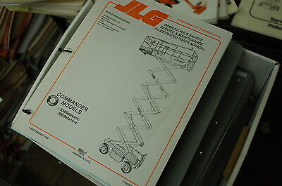 Jlg 3369 3969 Electric Scissor Man Lift Parts Service Maintenance Owner Manual