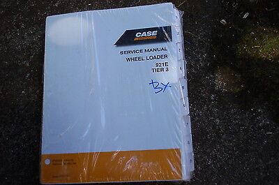 Case 921e Tier 3 Front End Wheel Loader Repair Shop Service Manual 2009 Owner