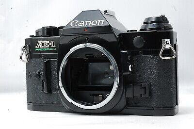 Canon AE-1 Program 35mm SLR Film Camera Body Only  SN3610539