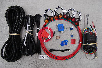 SXS/UTV POLARIS RANGER & CREW TURN-SIGNAL & LED LIGHT KIT TS315S