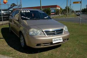 2007 HOLDEN VIVA JF MY08 5 SPD MANUAL SEDAN 148,229 K'S Clontarf Redcliffe Area Preview