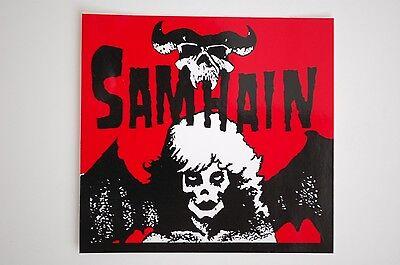 Samhain Sticker Decal (373) Punk Rock Music Car Sticker Bumper