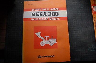 Daewoo Mega 3330 Front End Wheel Loader Repair Shop Service Maintenance Manual