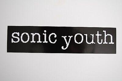 Sonic Youth Sticker Decal (71) Rock Car Window Bumper Laptop Skateboard