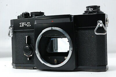 Canon F-1 35mm SLR Film Camera Body Only  SN123170 **Excellent+**