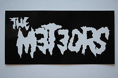 Meteors Sticker Decal (426) Rockabilly Psychobilly Mad Sin Reverend Horton Heat