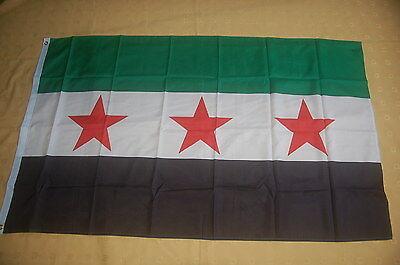 Syrien 1932-1958 3 Sterne  Fahne Flagge Hißflagge Hissfahne 150 x 90 cm
