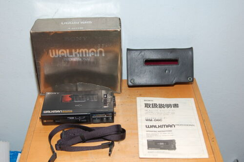 SONY WM-D6C Walkman Professional Cassette Player Recorder Tested & Working