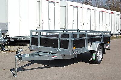 PKW Anhänger Kippanhänger 750 kg 2 Kl 1 Achse 236 x 125 x 45 Transportanhänger