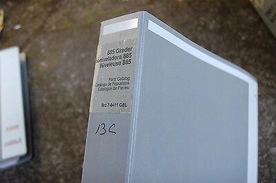 Case 855 Road Motor Grader Parts Manual Book Catalog Spare 2002 List Brazil Oem