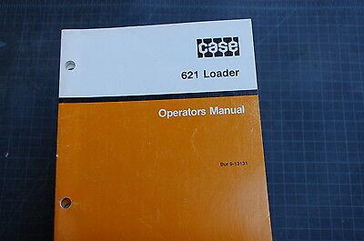 Case 621 Front End Wheel Loader Owner Operator Maintenance Manual Book 1989 User